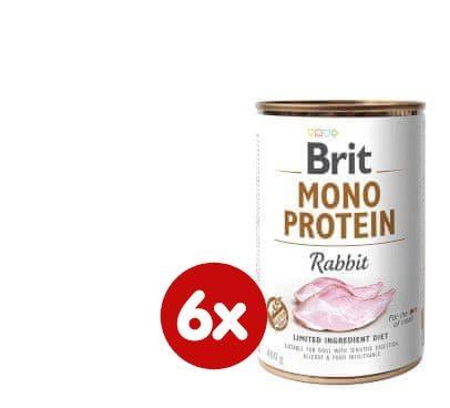 Brit Mono Protein Rabbit 6x400g