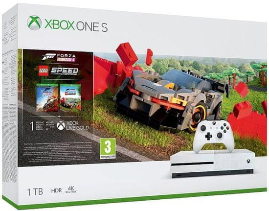 Microsoft Xbox One S 1 TB + Forza Horizon 4 + Lego DLC