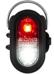Sigma Micro Duo svjetiljka, crna
