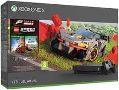 Microsoft Xbox One X 1TB igraća konzola + Forza Horizon 4 + LEGO Speed Champions DLC