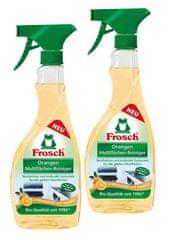 Frosch EKO 3x500ml Multifunkčný čistič na lesklé povrchy