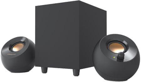 Creative zestaw głośników Pebble Plus 2.1 czarny