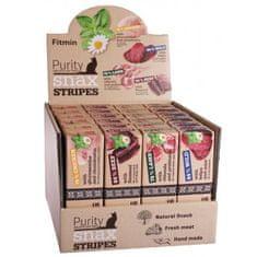 Fitmin przysmaki dla kotów Cat Purity Snax STRIPES box 4 smaki 24x35 g