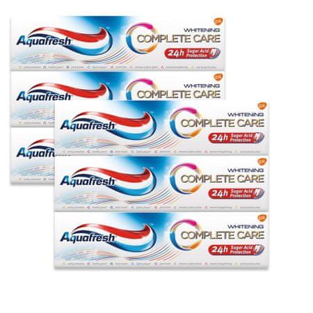 Aquafresh Complete Care Whitening ZP 75 ml zubna pasta - 6 pakiranja