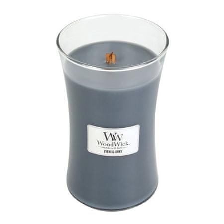 Woodwick Evening Onyx illatgyertya üvegben 609,5 g