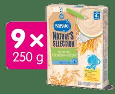 Nestlé Mléčná kaše Pšenično-ovesná 9x250 g