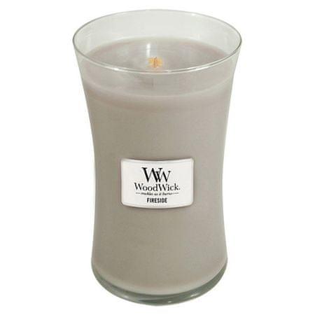 Woodwick Dišeča vaza za sveče Fireside 609,5 g