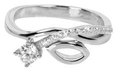 Silver Cat Srebrni prstan z cirkoni SC233 srebro 925/1000