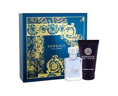 Versace Pour Homme toaletna voda 30ml + gel za prhanje 50ml