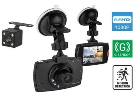 Blow DVR F480 Blackbox avto video snemalnik + vzvratna kamera - Odprta embalaža