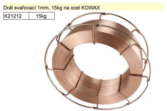 Kowax Drát svařovací 1mm, 15kg na ocel