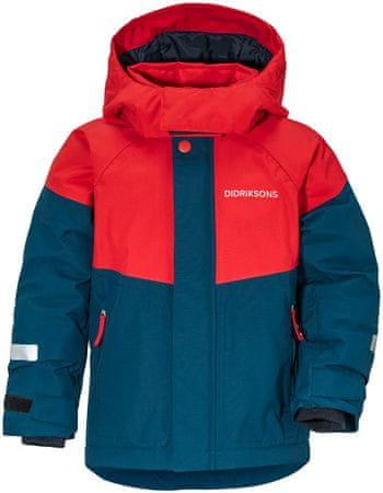 Didriksons1913 chlapecká bunda LUN 100 modrá