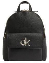 Calvin Klein Dámsky batoh Re-Lock Backpack Black