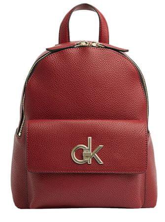 Calvin Klein Női hátizsák Re-Lock Backpack Barn Red