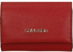Calvin Klein Dámska peňaženka Enfold Card Barn Red