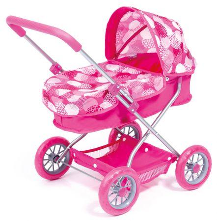 Bayer Design Smarty otroški voziček za lutke, roza