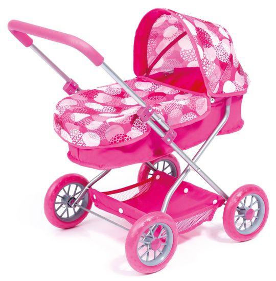 Bayer Design Kočárek pro panenky Smarty růžová
