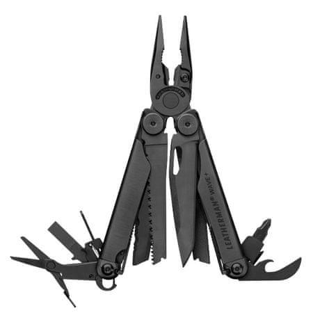 LEATHERMAN nóż wielofunkcyjny Wave Black Plus