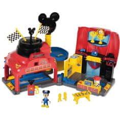 IMC Toys Mickeyho závodní garáž