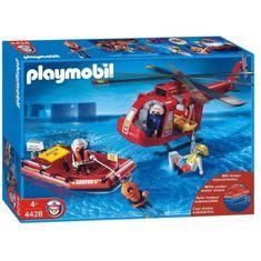 Playmobil Helikoptéra Fire&Rescue
