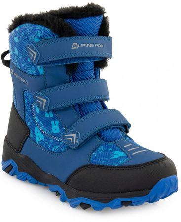 ALPINE PRO chlapecké sněhule Gailo KBTP212682G 34 modrá