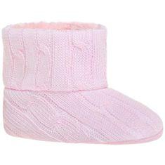 BOBO BABY Dětské zimní capáčky Bobo Baby růžový úplet - 80 (9-12m)