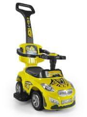 MILLY MALLY Dětské jezdítko 2v1 Milly Mally Happy yellow