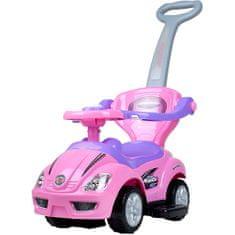 BAYO Dětské jezdítko 3v1 Bayo Mega Car pink