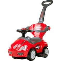 BAYO Dětské jezdítko 3v1 Bayo Mega Car red