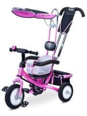 TOYZ Dětská tříkolka Toyz Derby pink