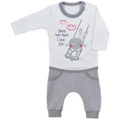 KOALA 2-dílná kojenecká souprava Koala Swing bílá - 62 (3-6m)