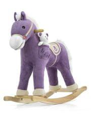 MILLY MALLY Houpací koník s melodií Milly Mally Pony fialový