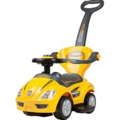 BAYO Dětské jezdítko 3v1 Bayo Mega Car yellow