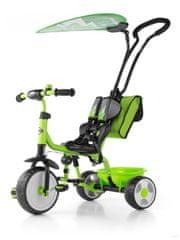 MILLY MALLY Dětská tříkolka Milly Mally Boby Delux 2015 green