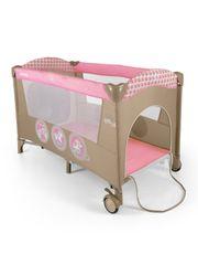 MILLY MALLY Cestovní postýlka Milly Mally Mirage pink toys