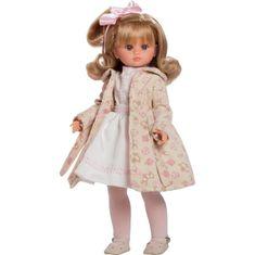 Berbesa Luxusní dětská panenka-holčička Berbesa Flora 42cm