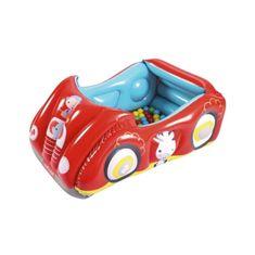 FISHER PRICE Dětské nafukovací autíčko Fisher-Price s míčky