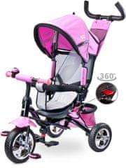 TOYZ Dětská tříkolka Toyz Timmy pink 2017