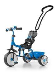 MILLY MALLY Dětská tříkolka se zvonkem Milly Mally Boby 2015 blue