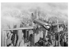 Dimex Fototapeta MS-5-0006 New York- lietadlo 375 x 250 cm