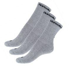 Horsefeathers 3PACK ponožky šedé (AA547D)