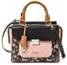Verde Dámska kabelka 16-5245 Pink / Black