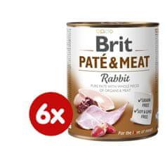 Brit Paté & Meat Rabbit 6x800g