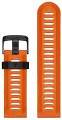 eses silikonski pašček za Garmin Fenix 3/5X/5X Plus/5X Sapphire/3HR (1530000448), oranžen