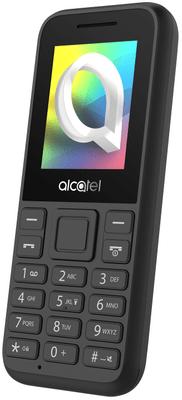 Alcatel 1066G, tlačítkový telefon, levný, dostupný mobil, FM rádio, barevný displej, kompaktní, malé rozměry, dlouhá výdrž na baterii