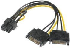 Akasa redukce 2x SATA na 8pin PCIe 2.0