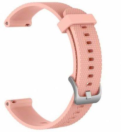 eses silikonski pašček za Garmin Vivoactive 3 (1530000606), roza