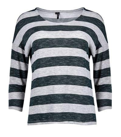 Vero Moda Koszulka damska CVMWIDE STRIPE 3/4 BLUZKA KOLOR Sosna Ponderosa (rozmiar XS)