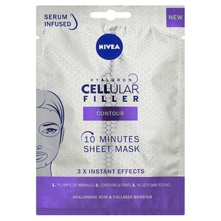 Nivea Cellular Filler (10 Minutes Sheet Mask)