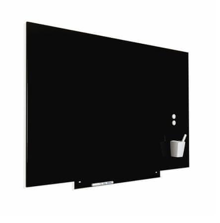 Piši-Briši SkinBoard NKT-6820V19 tabla, stenska, 75 x 115 cm, črna